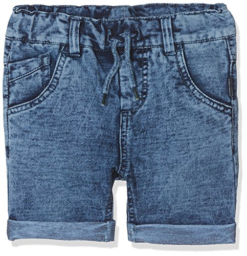 NAME IT Baby-Jungen Shorts NMMSOFUS DNMBATO 2032 Long NOOS, Blau Medium Blue Denim, 98