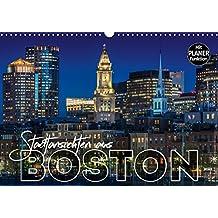 Stadtansichten aus Boston (Wandkalender 2019 DIN A3 quer): Sehenswürdigkeiten und idyllische Orte (Geburtstagskalender, 14 Seiten ) (CALVENDO Orte)