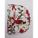 1x Tea Cozy Floral Printed Teapot Cover Cotton For Home Kitchen Keep Warm