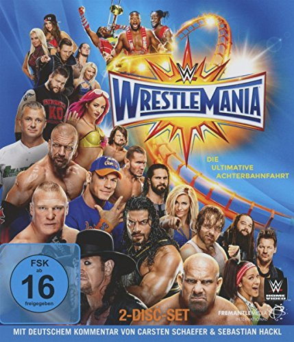 Wrestlemania 33 [Blu-ray] - Wwe-wrestlemania