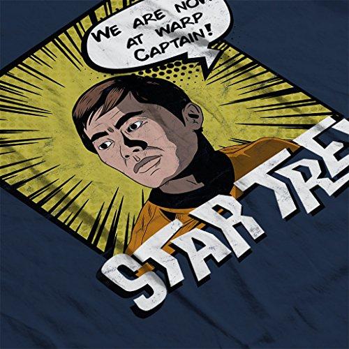 Star Trek Sulu Comic Style Women's Vest Navy blue