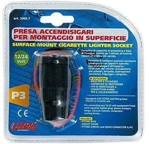 PRISE ELECTRIQUE POUR ALLUME-CIGARE LAMPA 12 24 V IMPERMEABLE POUR YAMAHA TDM 850 SCOOTER ET MOTO