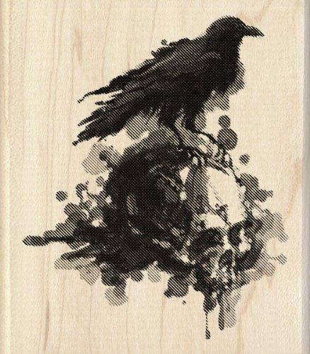 mpel, Raven (Inkadinkado Stempel Halloween)