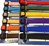 Puppy Collars, New born Puppy Identity collars, ID Bands Kitten, Puppies (6 PACK) (Medium to Large)
