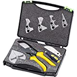 JX-C8025 45-135 Grad Winkelschneider verstellbar Universal Gehrungsschere mit Klingen Schraubendreher Werkzeug
