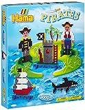 Hama 3229 - Geschenkpackung Piraten, ca. 3000 Bügelperlen und einer Stiftplatte