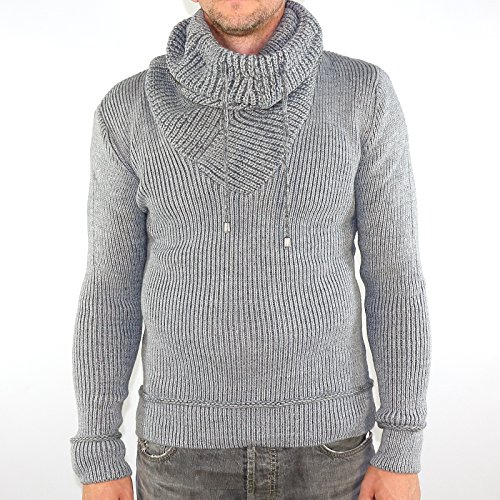 Wasabi Pullover Ce&Ce Tricot 555 Größe: XXL Farbe: Light Grey