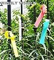 Meta-Etiketten, rund, aus Plastik, für den Garten, fürs Kinderzimmer, Etikett, 2 x 20 cm von Meta-Label - Du und dein Garten