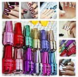 #8: Huda Beauty Mirror Nail Polish Extra Shine Colour - (Set Of 6)