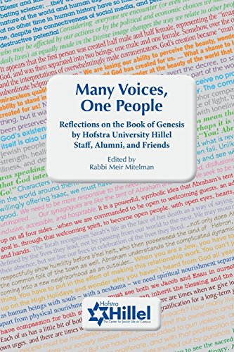 Many Voices, One People: Reflections on the Book of Genesis by Hofstra University Hillel Staff, Alumni, and Friends -
