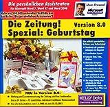 Produkt-Bild: Die Zeitung. Spezial: Geburtstag. Version 8.0. CD- ROM für Windows 95/98/ NT 4.0 und MS Word 7