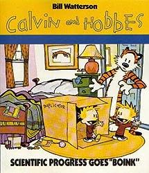 Calvin & Hobbes : Scientific progress goes