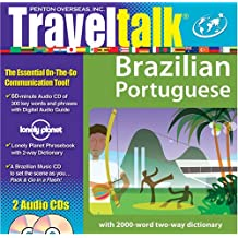 Brazilian Portuguese [With Lonley Planet Phrasebook W/2-Way Dictionary]: The New Traveler's Survival Kit (TravelTalk)