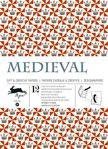 Medieval: gift and creative paper books vol.37 (Gift Wrapping Paper) por Pepin van Roojen
