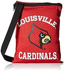 NCAA Louisville Cardinals Game Day Pouch, Red