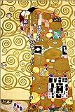Poster 20 x 30 cm: Der Lebensbaum (Die Erfüllung) von Gustav Klimt - Hochwertiger Kunstdruck, Kunstposter