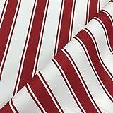 Vertikale Streifen rot Gewebe der weiche Drapierung