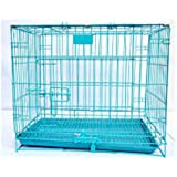 Hanu Enterprises Heavy Duty Crate Strong Metal Big and Adult Large Dog Cage (49 Inch)