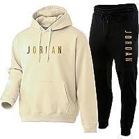 NFNF Tuta Intera per Uomo,Ragazzi Jordan 2 Pezzi Set Abbigliamento Sportivo Superiore E Inferiore,Classico Morbido…