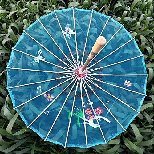 Ombrelli per decorazioni nozze ombrello di scena di passerella di fotografia performance ombrello trasparente danza ombrello