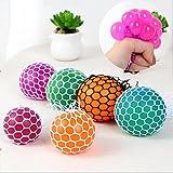 Neuheit Mesh Squishy Ball für Anti Stress Squeeze Traube Ball Relieve Druck Ball Spielzeug mit...