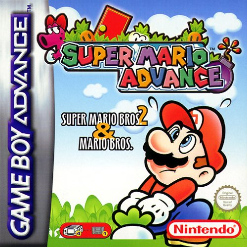 Super Mario Advance - Super Mario Bros. 2 & Mario - Mario Tag Super