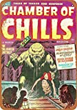 New Tin Sign Chamber of Chills Comic #06 Wall Plaque Vintage Look Novelty Metal Sign Aluminum 8x12 inch