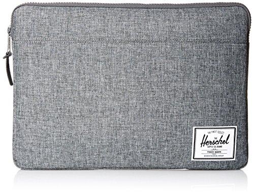 Herschel Anchor Sleeve 15 inch Macbook Raven Crosshatch Laptophülle