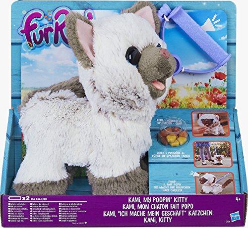 "FURREAL FRIENDS C1156EU40 ""Kami My Poopin Kitty"" Toy"