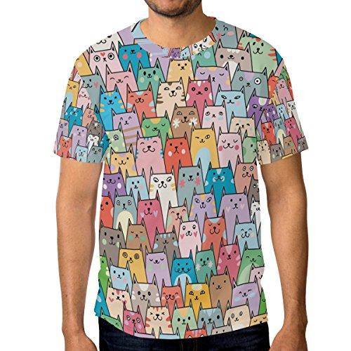 Camiseta de Gato para hombre