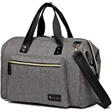Large Diaper Bag Stylish For Mom And Dad - Convertible Travel Baby Nappy Bags Diapers Tote Purse For Boys And Girls With Changing Pad