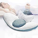 Jeebel Lendenkussen, orthopedisch kussen, rugkussen voor het verlichten van slaap en taille rugpijn, ischias zwangerschap heu