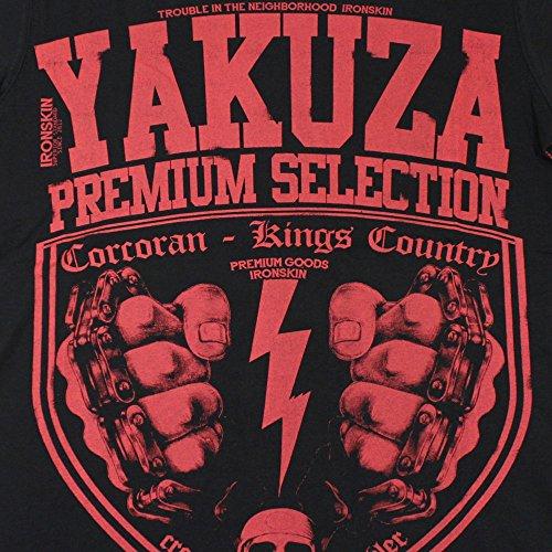 T-Shirt Yakuza YPS2016 Schwarz