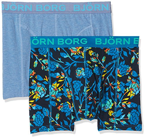 Björn Borg Herren Boxershorts Blue (Mykonos Blue)
