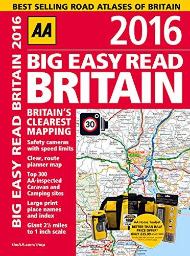 Big Easy Read Britain (Aa Road Atlas)