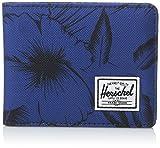 Herschel Herren Geldbörse, Jungle Floral Blue, Einheitsgröße