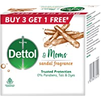 Dettol & Moms Bathing Soap Sandal, 75gm, Pack of 4