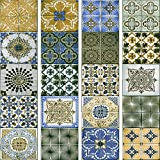 murando - PURO TAPETE - Realistische Tapete ohne Rapport und Versatz 10m Vlies Tapetenrolle Wandtapete modern design Fototapete - Mosaik Ornament f-A-0528-j-d