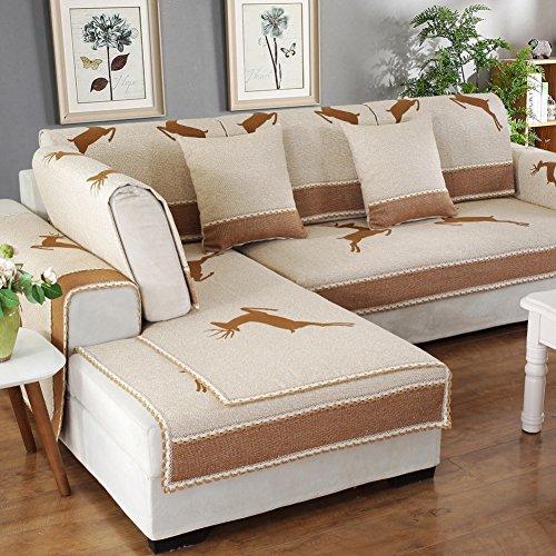 lililili Sofa hussen haustiere ein stück,Sofa abdeckungen pet protection,Couch abdeckungen für haustiere hunde,Protector sofa sofa handtuch deckt würfe -I 70x70cm(28x28inch) (Hussen Ein Stück)