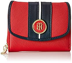 Tommy Hilfiger Ivy S Womens Wallet (Red)