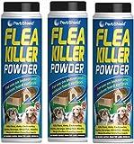 3 x PestShield Flea Killer Powder Crawling Insect Killer Indoor & Outdoor 200g Each