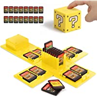 Nintendo Switch Game Card Case, Game Card Holder for Nintendo Switch Games with 16 Slots (Question Block YELLOW)