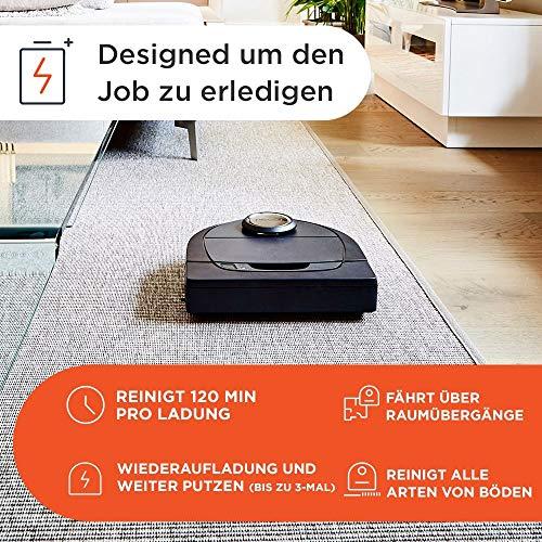 Neato Robotics Botvac D7 Connected – Premium Saugroboter mit Ladestation - 10