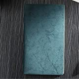 Cuaderno de tapa dura A5 - Forro | Nuevo diseño, papel Daolin de color beige de alta calidad, cuaderno retro de escritura de cuero de pu vintage retro diario de 18,8 * 25,8 cm