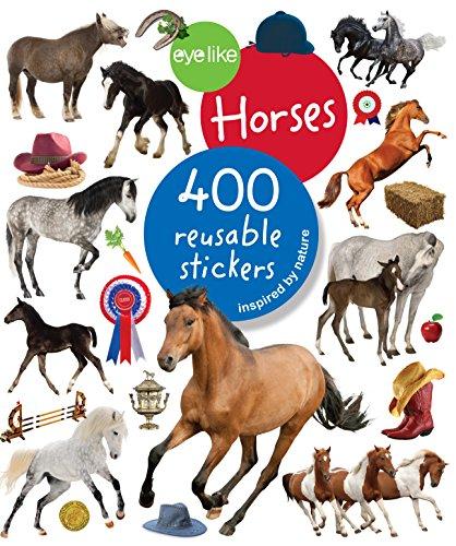 Eyelike Stickers: Horses (Handwerk-buch-aufkleber)