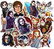 Game of Throne Waterproof Stickers of 100 Pcs Vinyl Decal Merchandise Laptop Stickers for Laptops Computers Hy