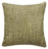 Schwar Textilien Kissen Dekokissen Sofakissen Kissenhülle mit Füllung Trend 40x40 cm in 6 Farben (grün)