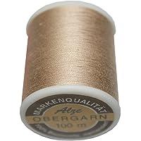 Gründl Obergarn 100 m 100/% Baumwolle Garnstärke 40//2 Farbe schwarz