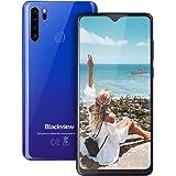 Smartphone,Blackview A80 Plus Android Phones Dual SIM Free Mobile Phone Unlocked, Quad Rear Camera, 4GB RAM+64G ROM, 4680mAh