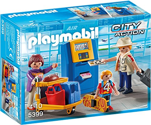 Playmobil 5399 - Familie am Check-in Automat - Automaten Business